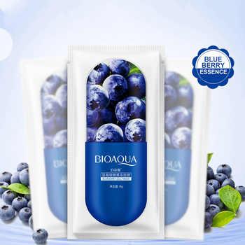 10Pcs BIOAQUA Skin Care Jelly Face Mask Face Care Aloe vera Blueberry Cherry blossom Moisturizing Facial Serum sleep jelly - DISCOUNT ITEM  32% OFF All Category