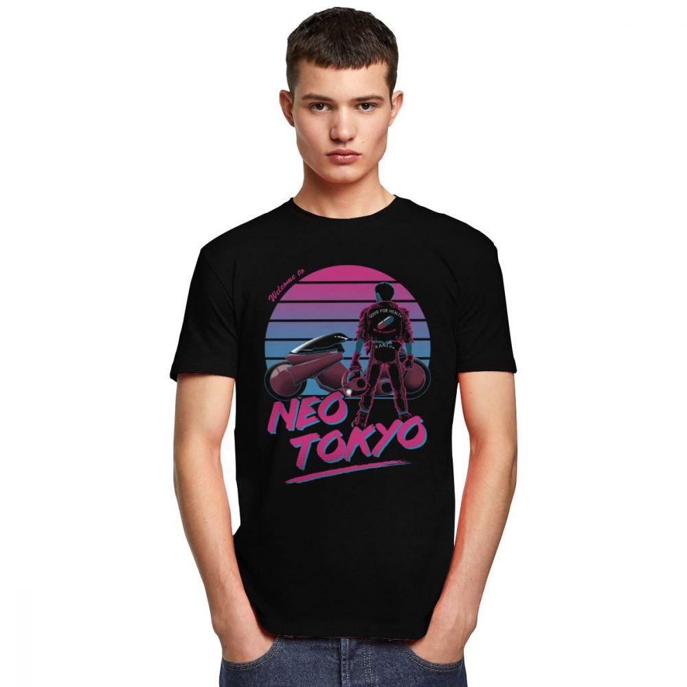 T-Shirt Akira Neo Tokyo Vaporwave Créer Son T Shirt