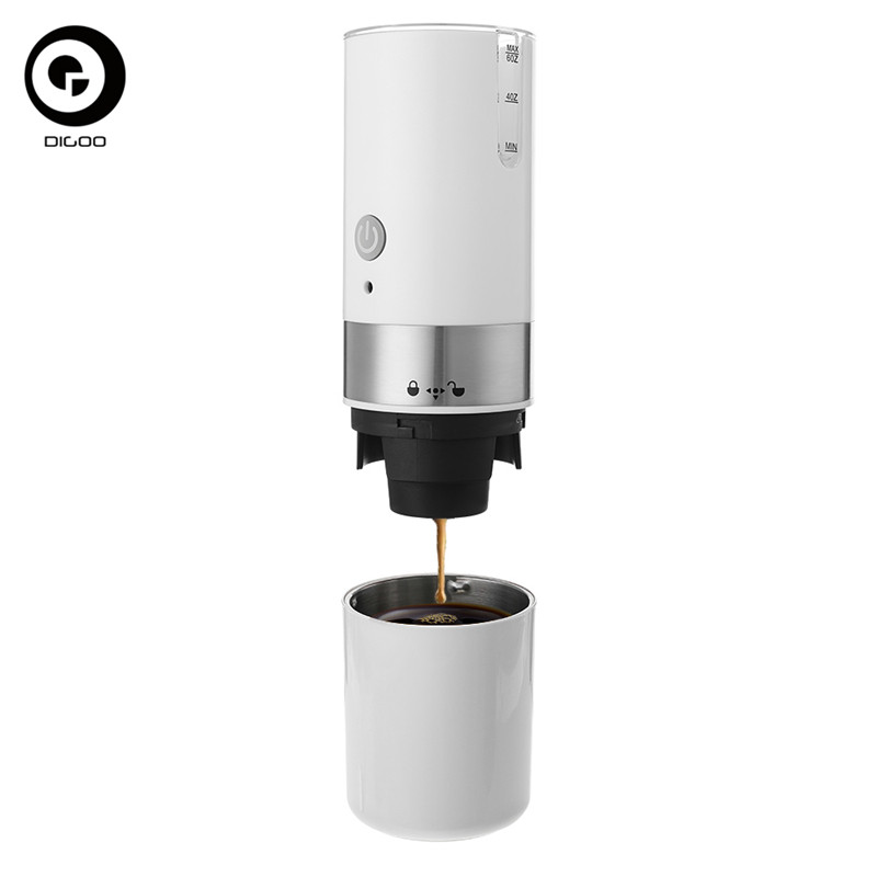 Digoo DG-CF01 Portable USB Electric Coffee Maker Automatic Coffee Machine Built-in Filter For Home Travel 8x24cm