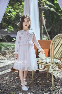 Kid Dress Easter-Day-Clothes Spring Party Wedding Girl Wholesale for 5425 Pearls New