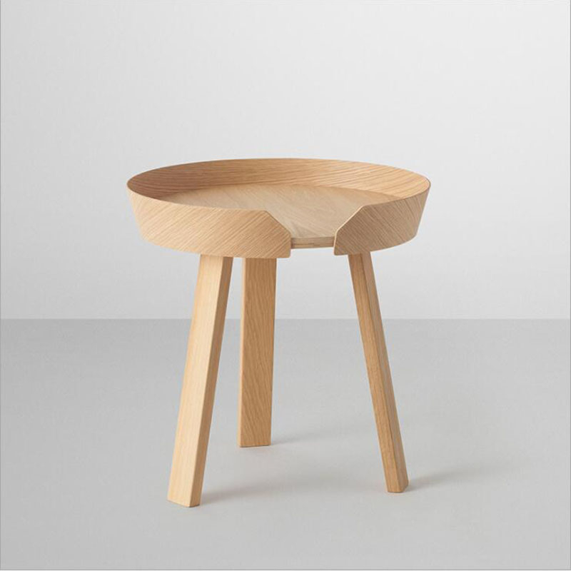 New Northern Europe Small Coffee Table Size Combination Of Simple Solid Coffee Small Round Table Sofa Edge Several Small
