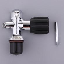 Uniwersalny zawór butli nurkowej przełącznik wymiana głowicy cylindra nurkowego
