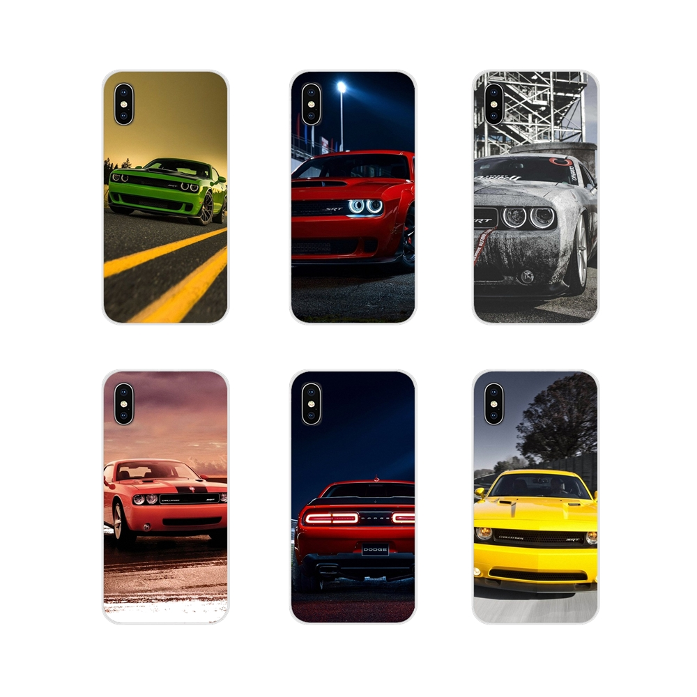 Silicone Phone Shell Covers Sports Racing Car Dodge Charger SRT For Motorola Moto X4 E4 E5 G5 G5S G6 Z Z2 Z3 G G2 G3 C Play Plus