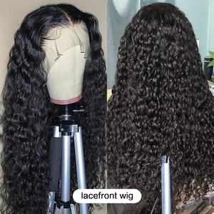 Волнистые волнистые волосы luvin 28, 30 дюймов, волнистые черные женские волосы на фронтальной основе, накладные волосы