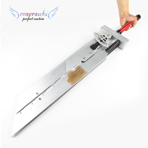 Image 4 - Final Fantasy VII FF7 Cloud Strife arma desmontable de madera, 110CM, Cosplay, espada de utilería