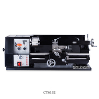 CT6132 Industrial Grade Turning Machine Heavy Multifunctional Bench High Precision Wood Bench Lathe Woodworking Rotary Machine