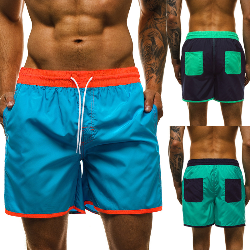 2020 Fashion Mens Summer Cool Breathable Shorts Gyms Shorts Fitness Bodybuilding Casual Pants Male Jogger Workout Beach Short