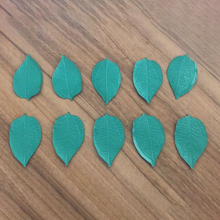 10 Pieces Green Iron Leaves Parts For Occlusion