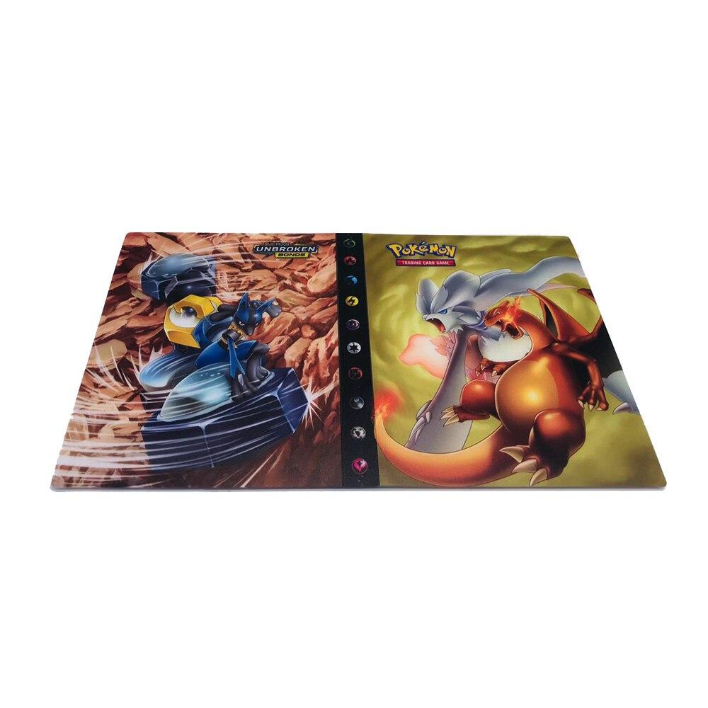 TAKARA TOMY держатель для карт с покемонами, альбом для игр Gx, коробка для карт с покемонами, 240 шт., держатель с покемонами, держатель для карт, Чехол для карт - Цвет: 17