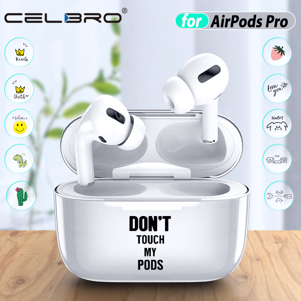 Clear Funny Case for Airpods Pro