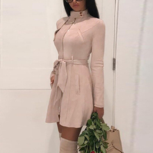 Women Coat Ladies Tops Business Solid Plus Size Fashion Formal Outwear Ol Belt E