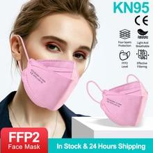 Respirator Face-Mask Mascarilla Fabric Ffpp2 Reusable KN95 Protective Dustproof