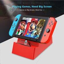 Type-C-Dock Switch Tv-Docking-Station Nintendo Usb-C Portable Mobile-Phone Macbook