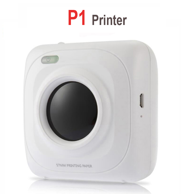 shop with crypto buy PAPERANG P2 Pocket Portable Bluetooth Photo Printer Mini 300 DPI Thermal Label Sticker Printer For Mobile Phone P1 200 DPI pay with bitcoin