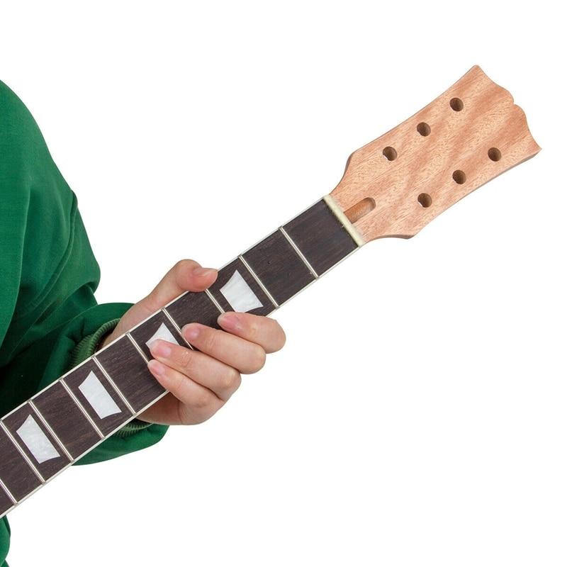 Lp Electric Guitar Neck Mahogany Fingerboard Sector 22 Fret DIY Guitar Replacement