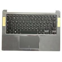 цена на Original NEW Laptop Palmrest Upper Case US UK Backlit Keyboard For Dell Inspiron 14-7000 7460 7472 K9GT3 0K9GT3
