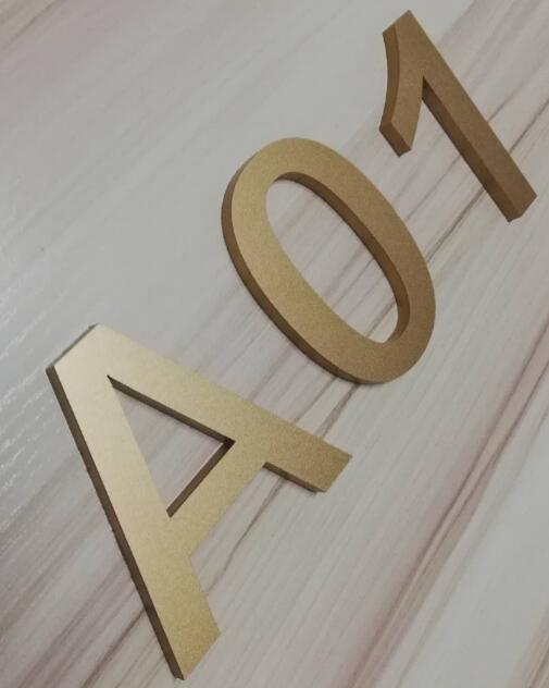 Customized Letter Acrylic <font><b>Billboard</b></font> Door Sign Acrylic Vip Tag Crystal Word Customized Engraving Signboard <font><b>Digital</b></font> house number image
