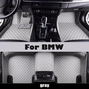 custom Car floor mats for bmw g30 e30 e34 e36 e39 e46 e60 e90 f10 f15 f20 f30 x1 x5 e53 e70 e87 x3 e83 floor mats