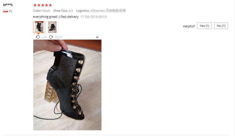 buyer show sandals boots