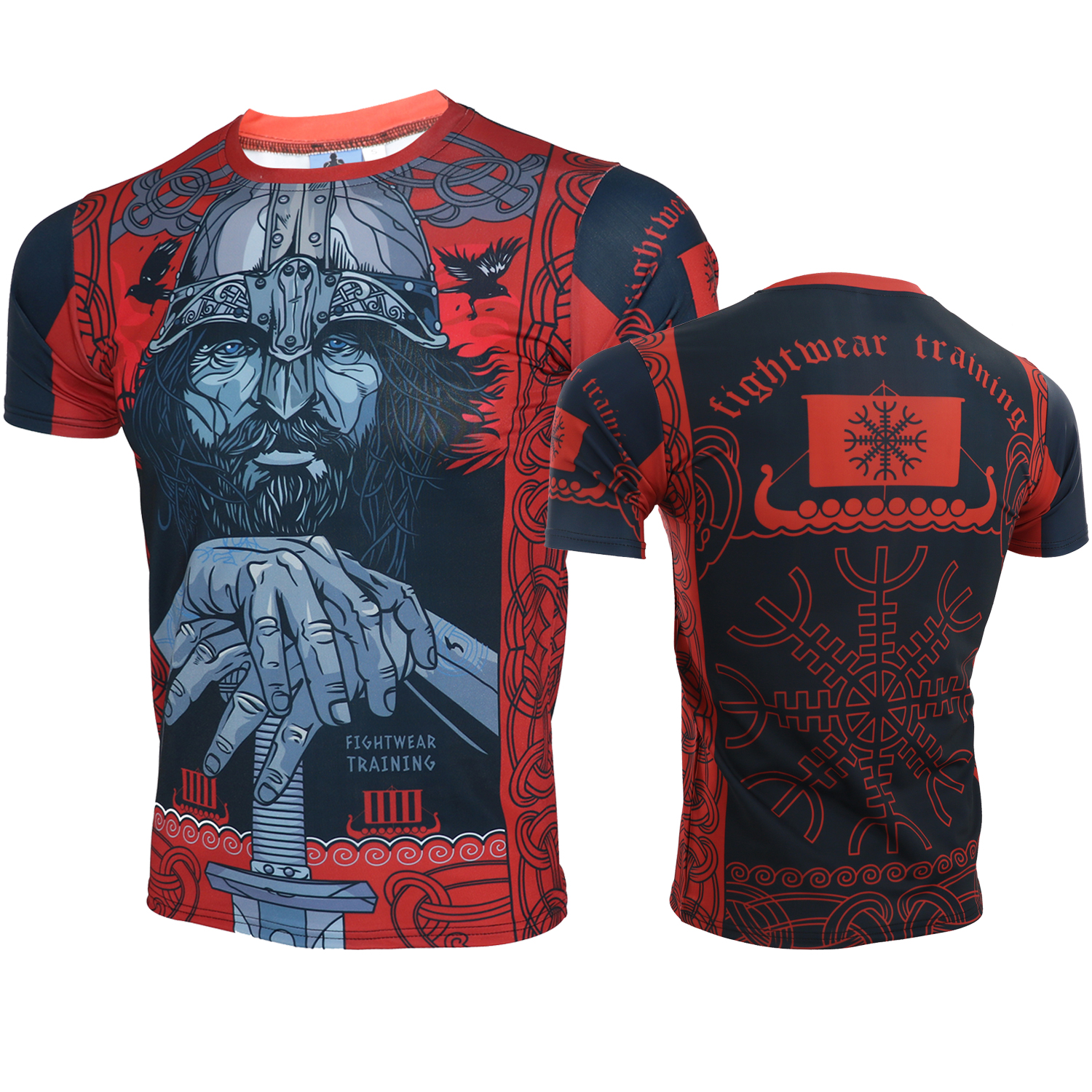 Boxing MMA Muscle T Shirt Gym Tee Shirt Fighting Fighting Martial Arts Fitness Training Muay Thai Shirts Giant Men Homme Boxe
