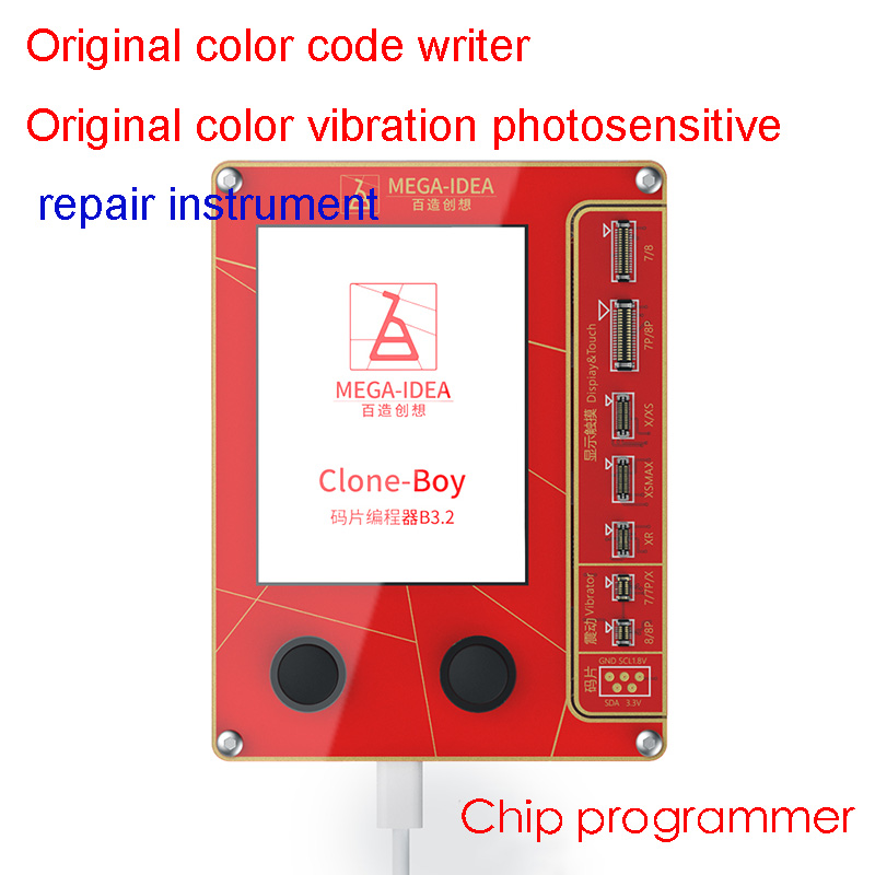 Repair-Programmer iPhone-Screen Touch/photosensitive-Repair Color for XR XSMAX 8P 7P title=