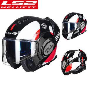 Image 4 - LS2 FF399 Lật Lên Moto Rcycle Mũ Bảo Hiểm Con Người Mô Đun Moto Chéo Đua Capacete LS2 Mũ Bảo Hiểm Casco Moto Capacete De Moto cicle ECE