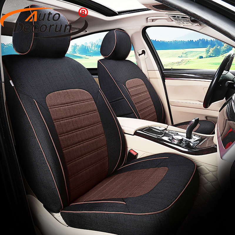 AutoDecorun Custom Car Seat Covers for <font><b>Volvo</b></font> <font><b>xc90</b></font> <font><b>2016</b></font> <font><b>Accessories</b></font> Auto Cover Seat Cushion Supports Automobiles Interior styling image