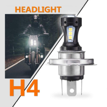 H4 светодиодный мотоцикл светодиодный головной светильник 12V 6500K светодиодный лампа для мотоцикла электромобили светильник лампы автомобильные аксессуары
