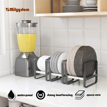 Kitchen Organizer Cabinet Plates Dishes Drying Rack Holder Drainer Goods For the Kitechen Storage And Order Accessories