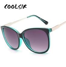 Роскошные женские солнцезащитные очки модные круглые женские винтажные Ретро брендовые дизайнерские женские большие спортивные солнцеза...
