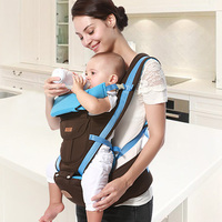 Ergonomic Baby Carrier Newborn Carrier Infant Hipseat Carrier Front Facing Ergonomic Kangaroo Baby Wrap Sling for Baby Travel