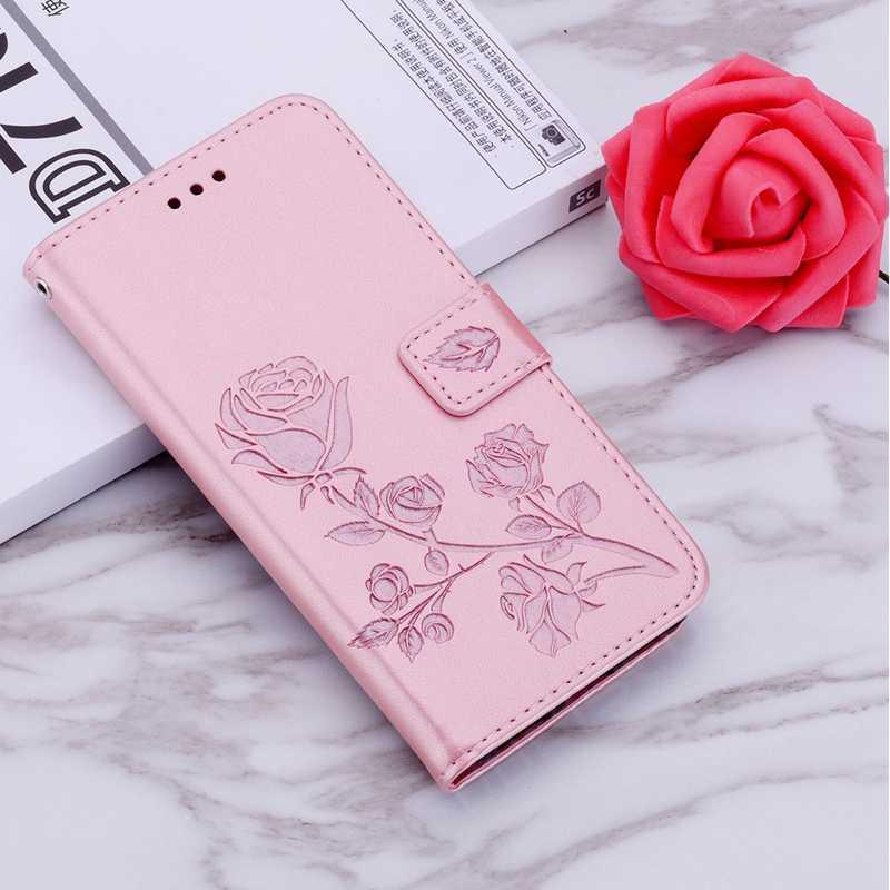 Чехол-бумажник с Откидывающейся Крышкой и розами для huawei P20 Lite P Smart Z 2019 Y5 Y6 Prime Y7 2018 Honor 7A 7C Pro 8A 8X 9X mate 10 20