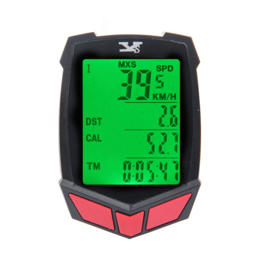 Mountain <font><b>Bike</b></font> Speedometer Computer Bicycle Cadence Sensor Waterproof Luminous Speedometer Speed <font><b>Power</b></font> <font><b>Meter</b></font> Riding Accessories image