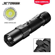 JETBeam KO-02 1800LM Powerful Tactical LED Flashlight Cree XHP35 18650 Torch Light Outdoor Camping Led
