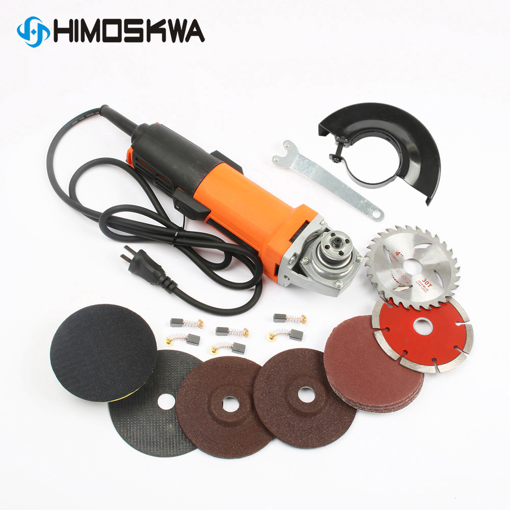 220V 1010W Tool Electric Angle Grinder Power Tools  Cutting Machine Electric Tool For Grinding Of Metal Woodworking