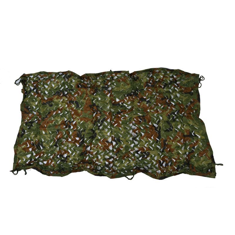 """1mx2m 39*78"""" Woodland Camouflage Camo Net Cover Hunting Shooting Camping Army