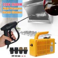 220 В 2600 Вт пароочиститель высокого давления портативная электрическая пароочистительная машина бытовой очиститель насосная стерилизация