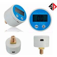 SP 0 ~ 35 atm zasilanie bateryjne sprzęt medyczny cyfrowy manometr 450 psi miernik ciśnienia manometr