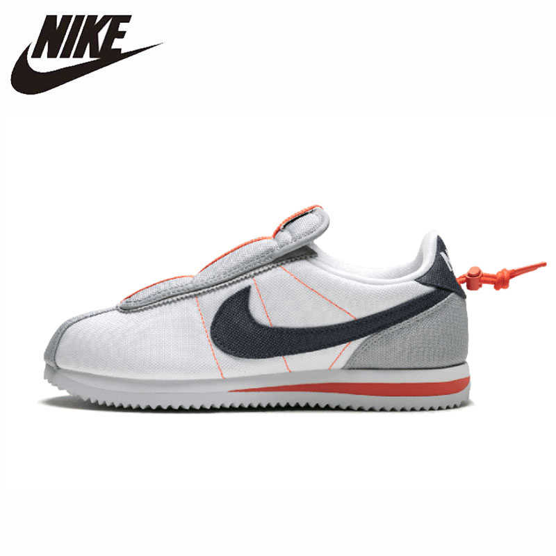 Nike Cortez Kenny 4 xKendrick Lamar Original Homens E Mulheres Running Shoes Respirável Sneakers Leves # AV2950-100