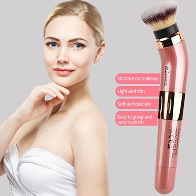 Practical Electric Puff Pore Cleaner Blush Powder Vibrating Makeup Brush Beauty Makeup Tool 5