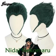 【Ebingoo】Danganronpa Nidai Nekomaru Cosplay Wig With Free cap