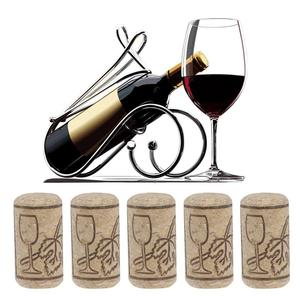 50/100pcs Wine Bottle Stopper Wine Cork Sealing Wine Cork Wine Bottle Stopper Bar Tool Bottle Closure Wooden Sealing Cover