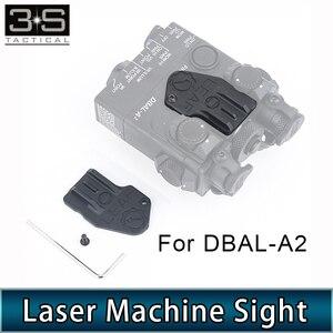 2 unids/set DBAL A2 máquina láser de la vista el asistente vista Kit para DBAL-A2 linterna con láser verde láser IR accesorio