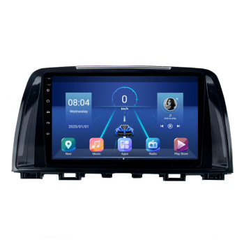 9 4G LTE Android 10.1 For Mazda 6 GL GJ 2012 2013 2016 2017 Multimedia Car DVD Player Navigation GPS Radio 2 Din No DVD image