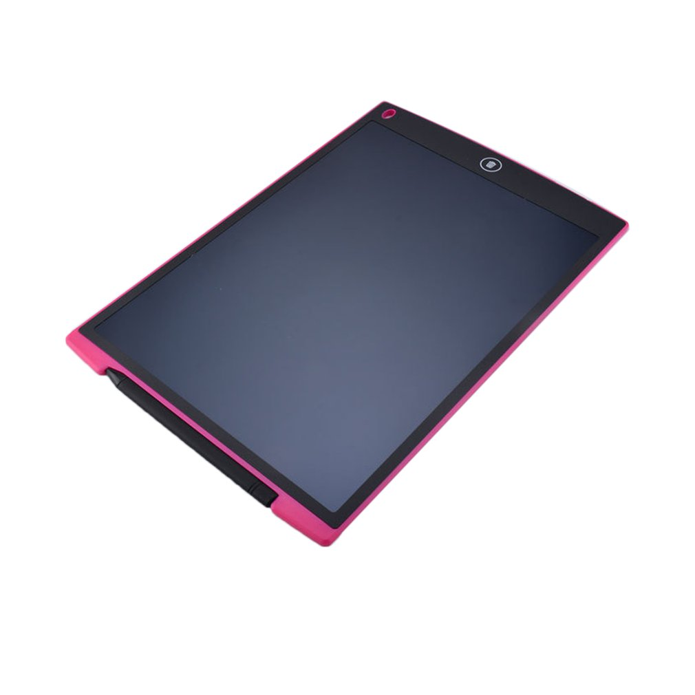 Ultra Thin 12 Inch LCD Digital Writing Tablet Drawing Board Sketchpad Electronic Graphic Board with Mouse Pad Ruler