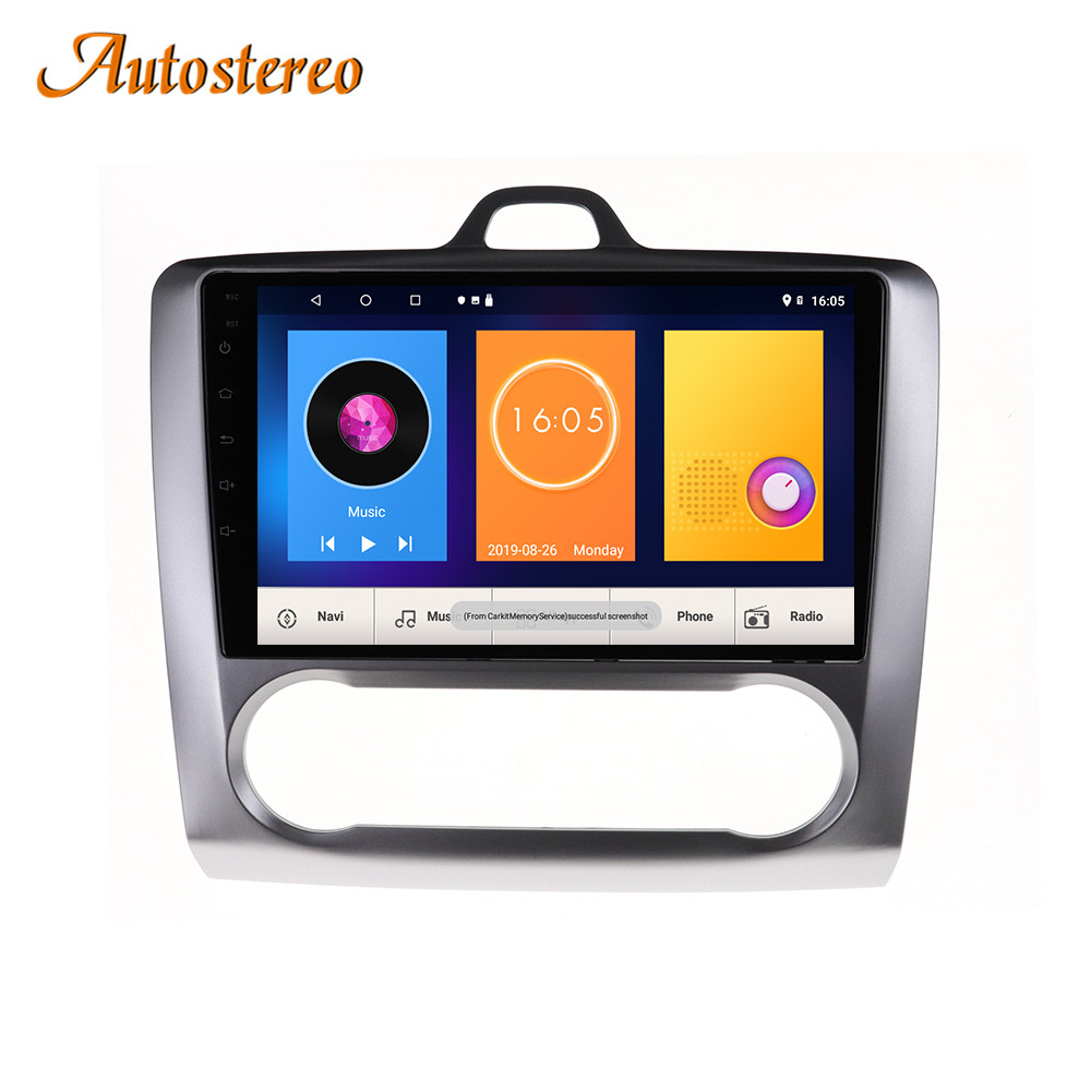Android system Car Multimedia Radio player for Ford focus 2 3 2004-2011 Car GPS Map Navigation Radio Steering-Wheel multimedia image