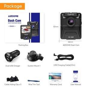 Image 5 - Оригинальный AZDOME GS65H видеорегистратор мини с двумя объективами Автомобильный видеорегистратор Novatek 96655 Full HD 1080P автомобильная камера ночного видения для Uber Lyft Taxi