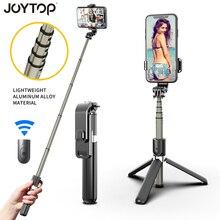 Tripé de selfie wireless de liga de alumínio, tripé dobrável, monopods universal para smartphones, gopro & sports