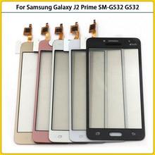 10 sztuk ekran dotykowy do Samsung Galaxy j2 Prime SM-G532F G532 G532G G532M Panel dotykowy Digitizer czujnik przedni szklany obiektyw Replac