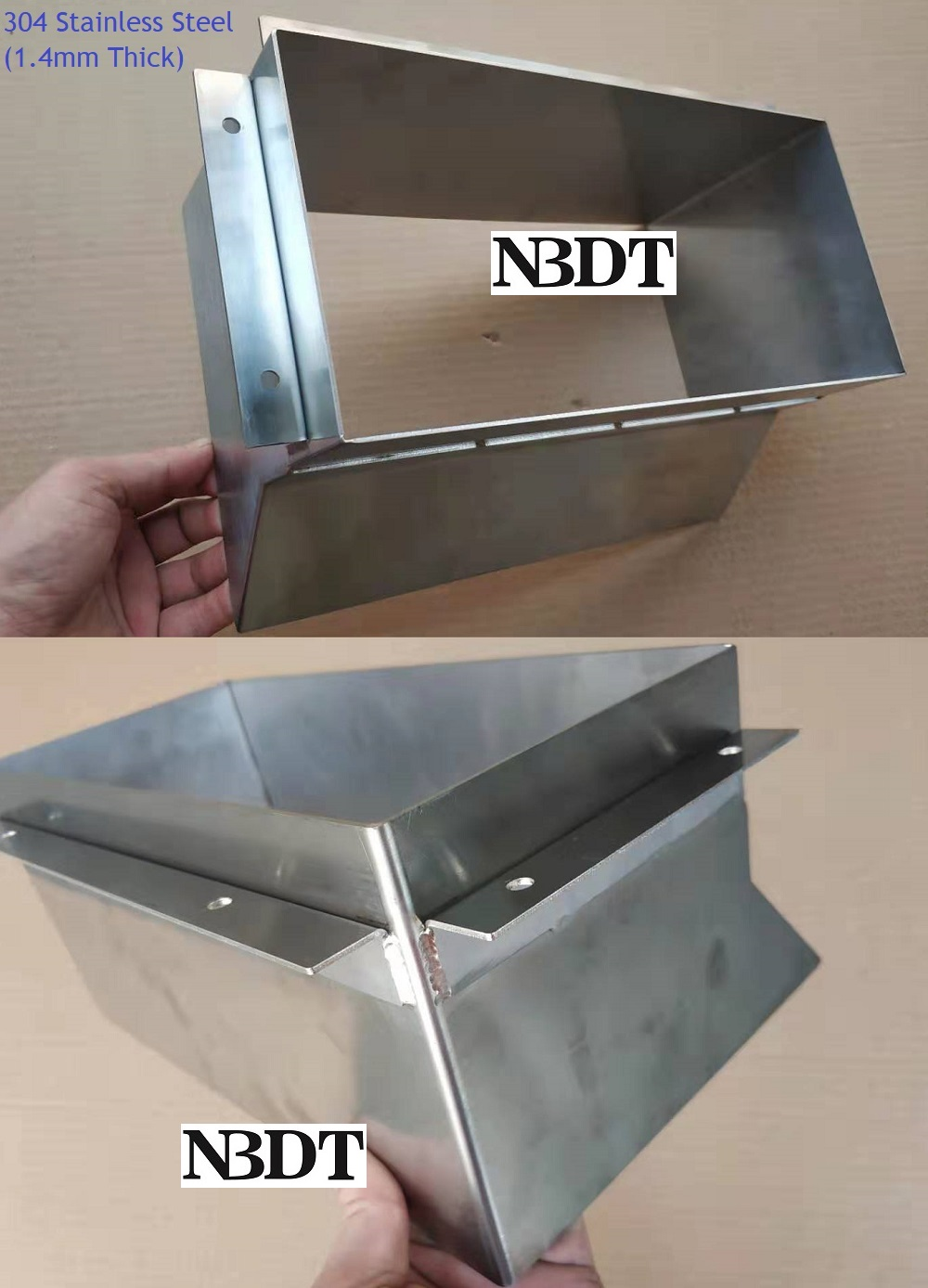 304 Stainless Steel Open Garbage Trash Chute Wall Door Back Mounted Waste Cabinet Commercial Household